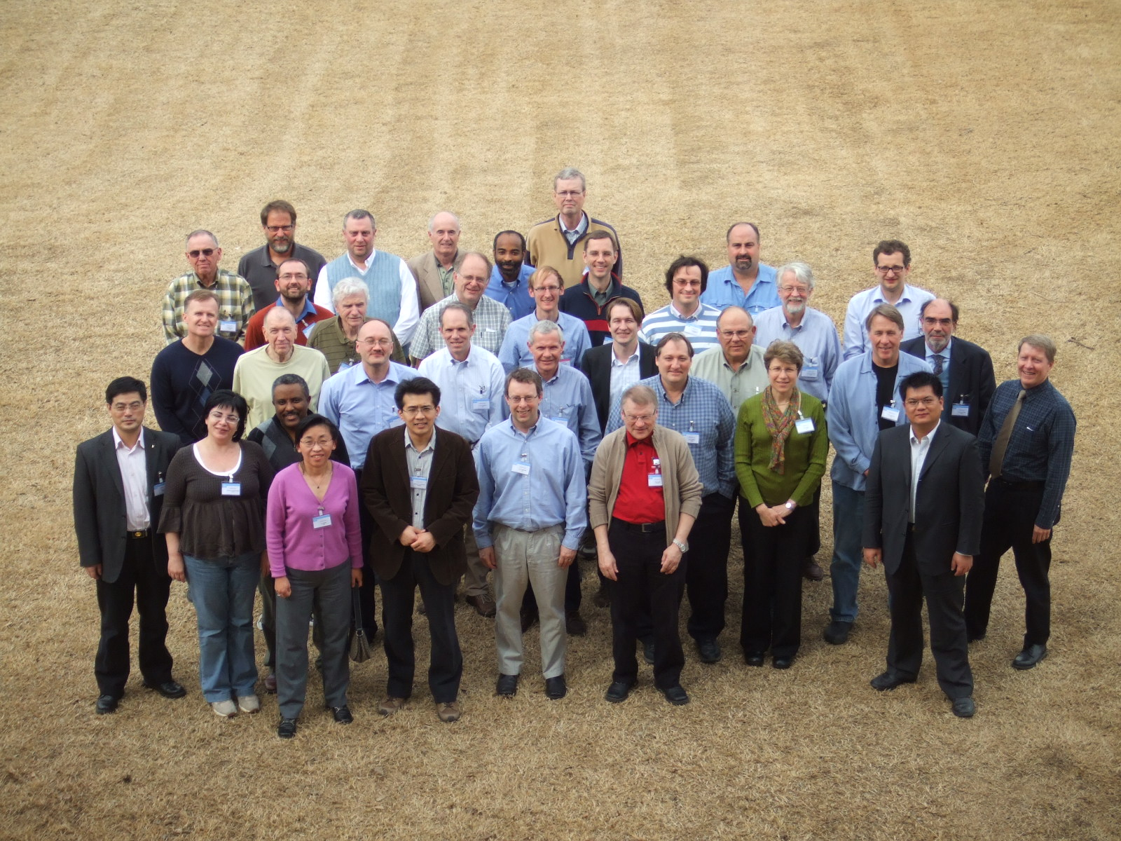 The participants of the ICM-1 (Norman / USA) Source: GCOS Secretariat